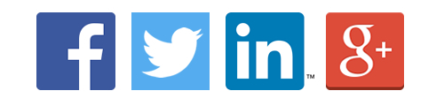 Social media management icon images