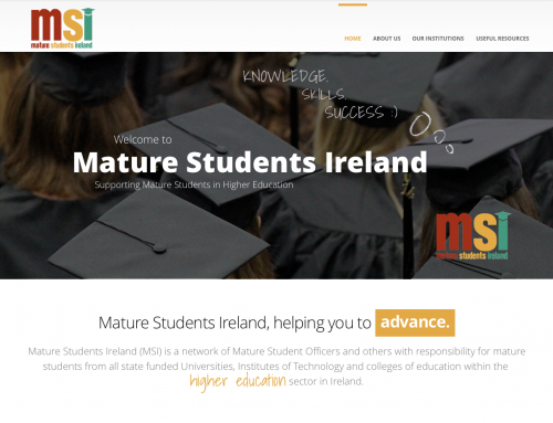 Web Design for Mature Students Ireland