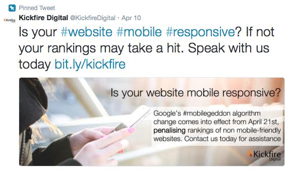 Social Media Graphics Twitter Feed